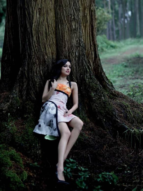 Shraddha Kapoor shoots for Grazia India magazine's latest cover.