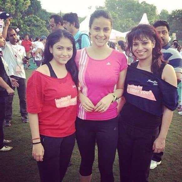 Gul Panag tweeted this picture of hers and wrote,
