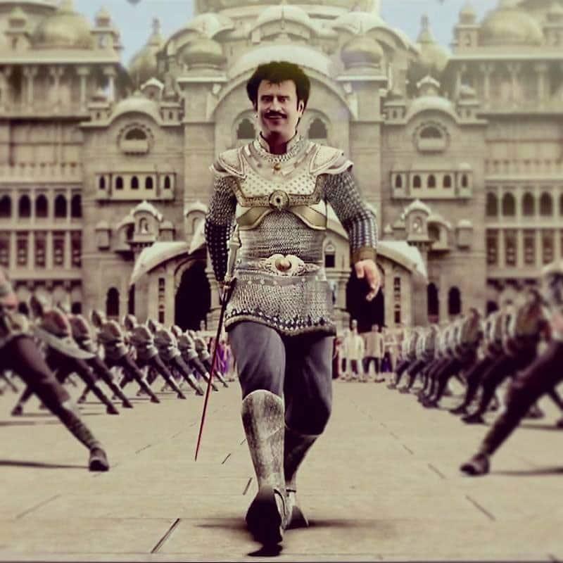Rajinikanth in a still from 'Kochadaiiyaan'.