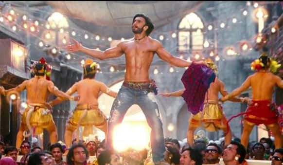 Here is the sizzling Ram from 'Ramleela'.