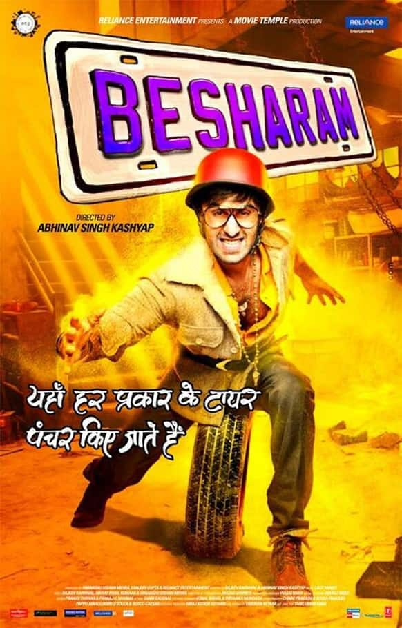 A brand new poster of 'Besharam'.