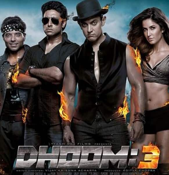 Check out the brand new poster of 'Dhoom 3'.