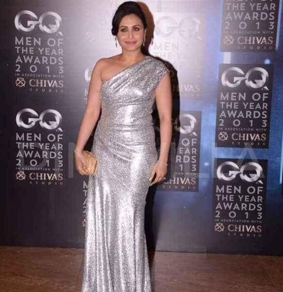 Rani Mukherjee in a silver gown at GQ Men of the Year Awards 2013.          Pic Gallery: Pinkvilla
