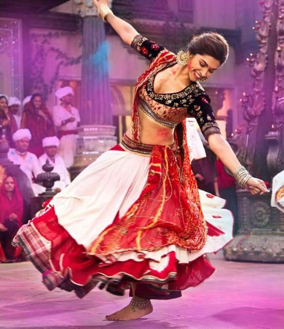 The feisty Leela swaying to the tunes of a song from 'RamLeela'.