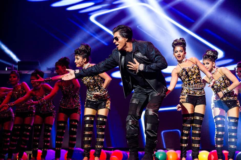 Shah Rukh Khan during a performance.