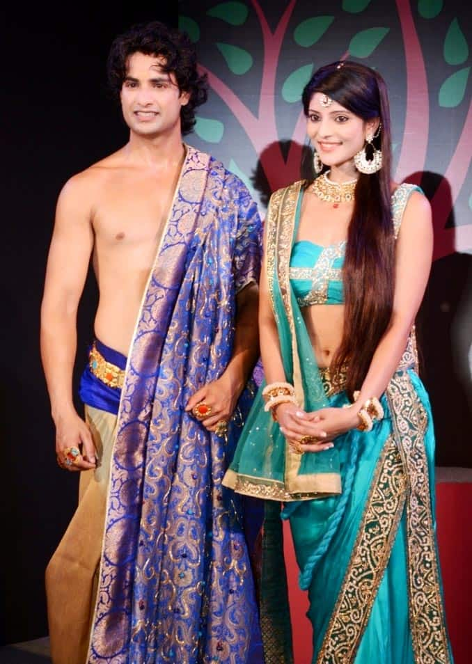 Himanshu Soni and Kajal Jain play the roles of Prince Siddharth and Yashodhara respectively in Zee TV's 'Buddha'.