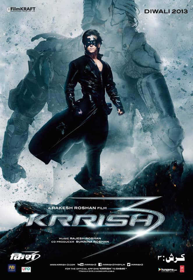 Krrish 3 Poster: Courtesy- Krrish3thefilm Facebook page