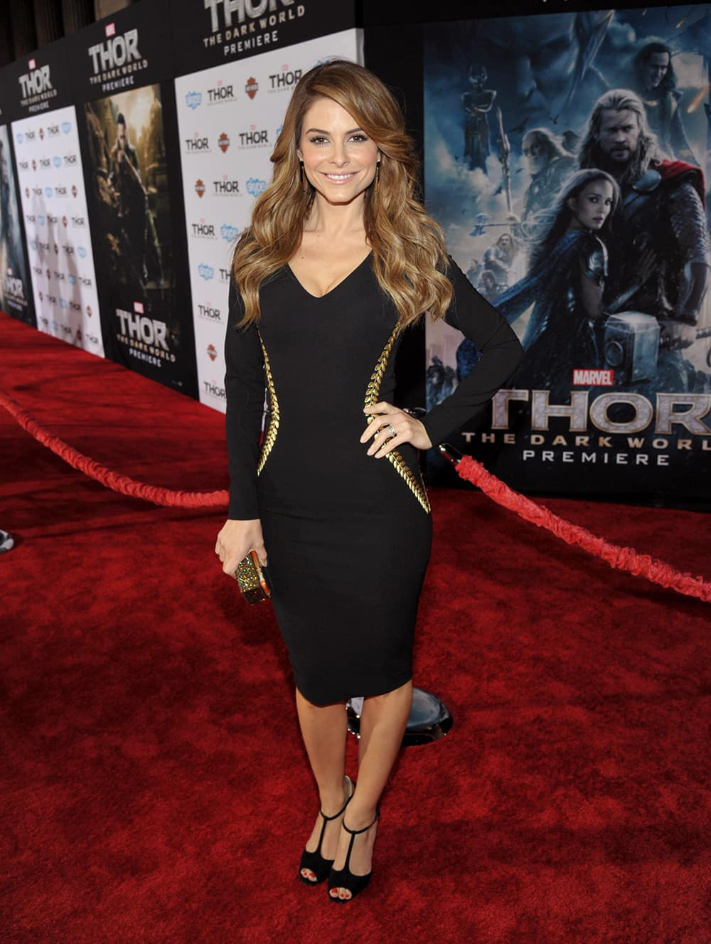 Maria Menounos arrives at the U.S. premiere of