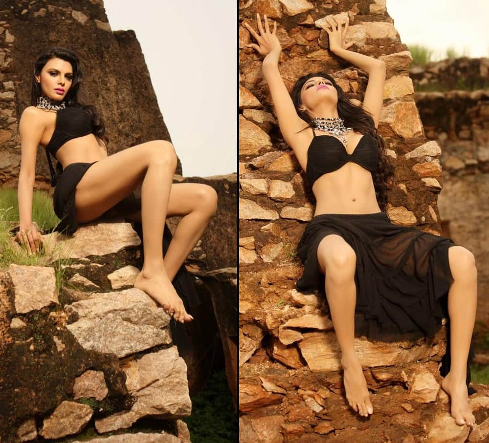 Sensuality does not wear a watch but she always gets to the essential places on time.. pic.twitter.com@SherlynChopra