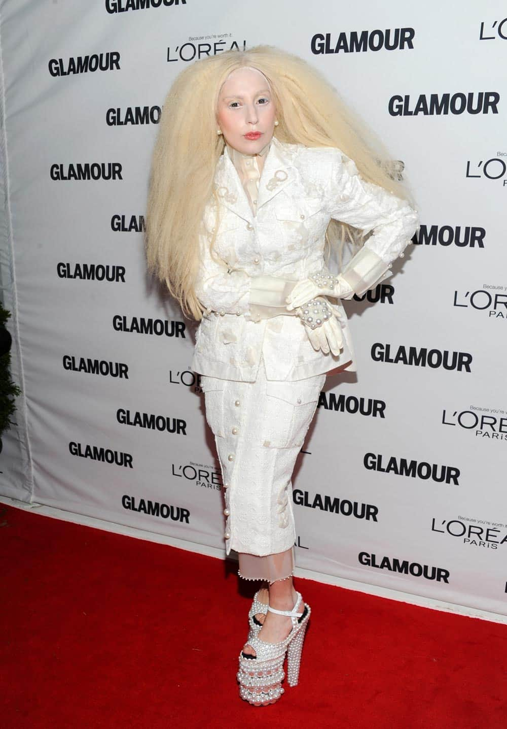 Honoree Lady Gaga attends the 23rd Annual Glamour Women of the Year Awards hosted by Glamour Magazine at Carnegie Hall, in New York.