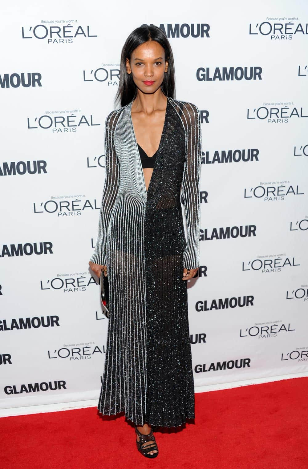 Honoree Liya Kebede attends the 23rd Annual Glamour Women of the Year Awards hosted by Glamour Magazine at Carnegie Hall, in New York.
