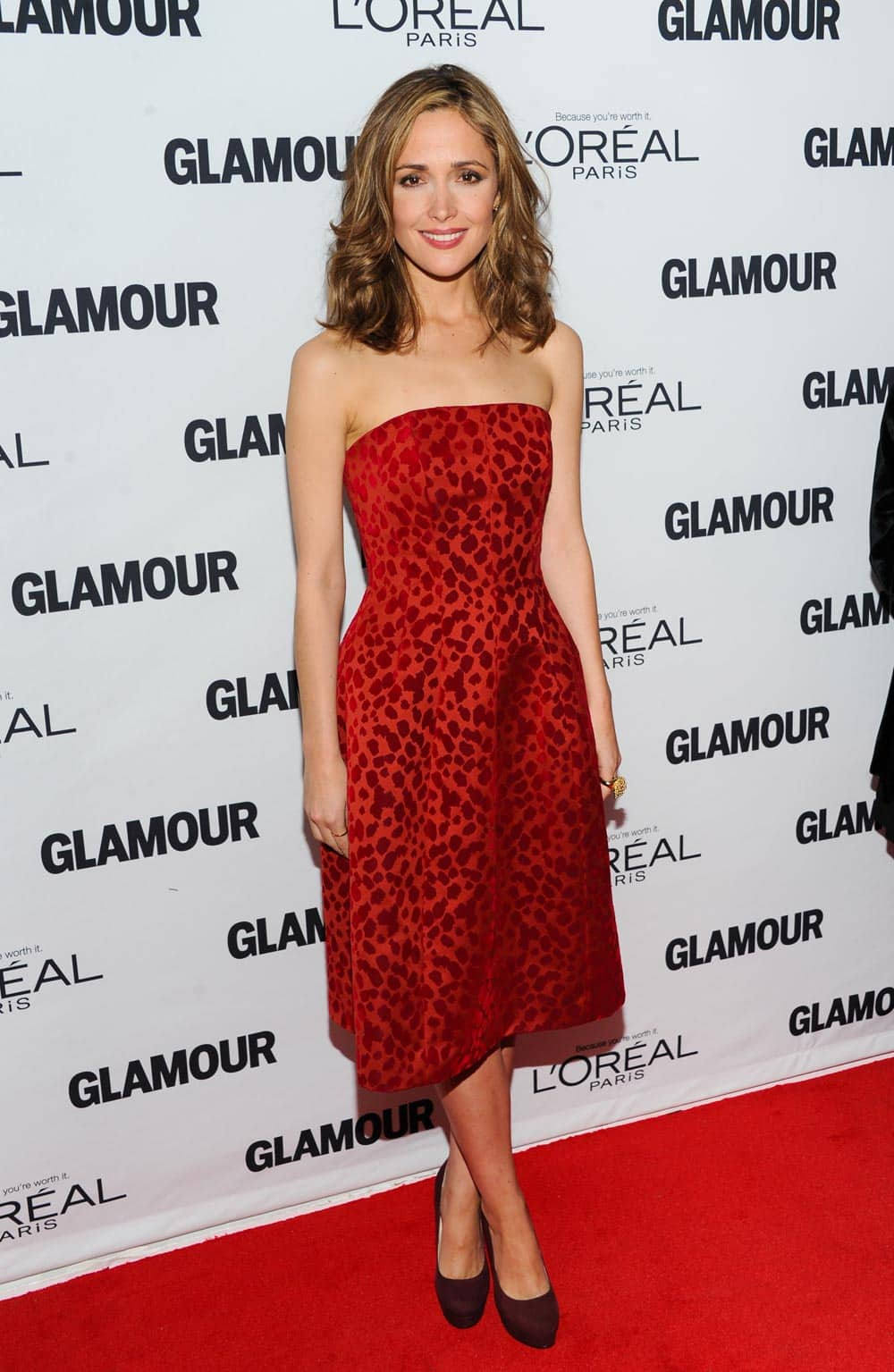 Actress Rose Byrne attends the 23rd Annual Glamour Women of the Year Awards hosted by Glamour Magazine at Carnegie Hall, in New York.