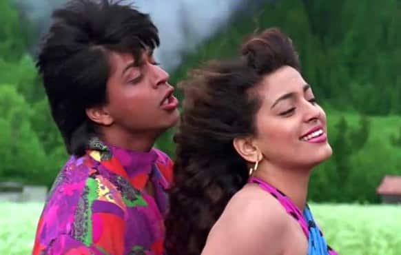Juhi has never look as beautiful in any of her films as she did in 'Darr'. Every look of hers was breathtaking.