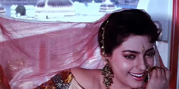 Juhi played the role of a runaway South Indian girl who loses her heart to a North Indian boy in 'Hum Hain Rahi Pyaar Ke'.