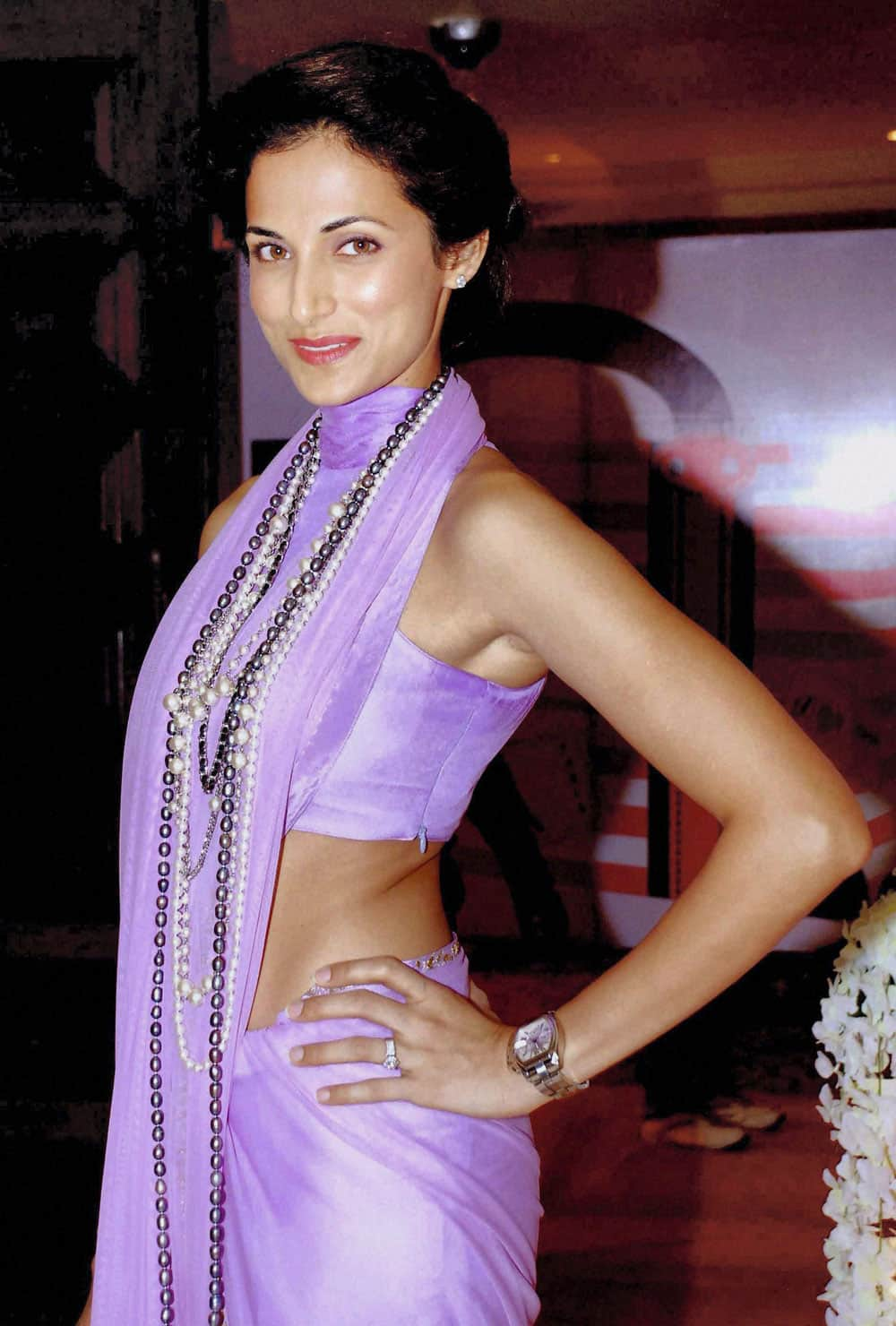 Former Mrs. India Shilpa Reddy during an event in Hyderabad.
