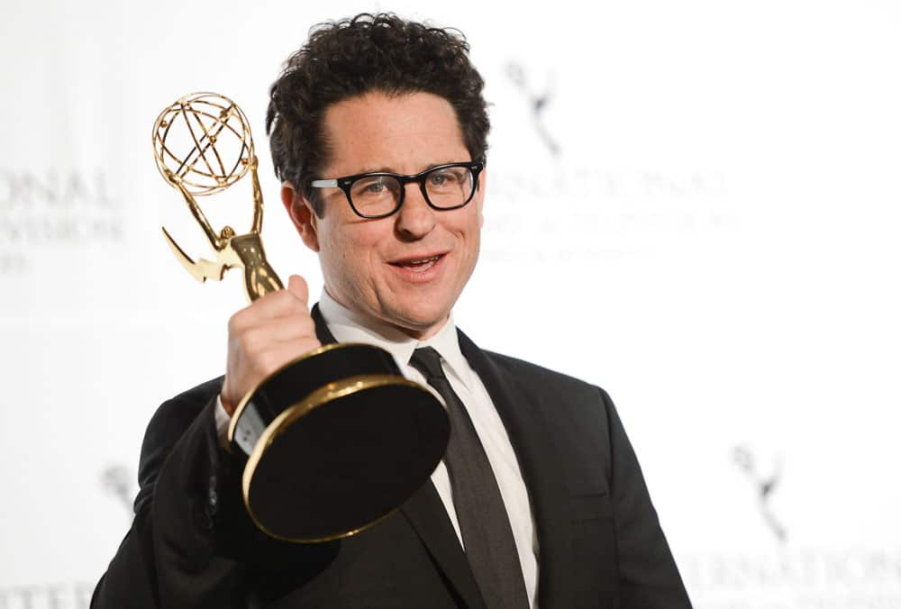 Producer and director J.J. Abrams poses with the