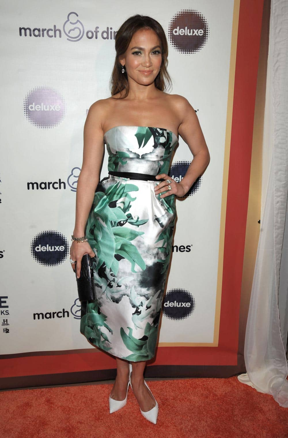 Jennifer Lopez attends the 2013 March of Dimes