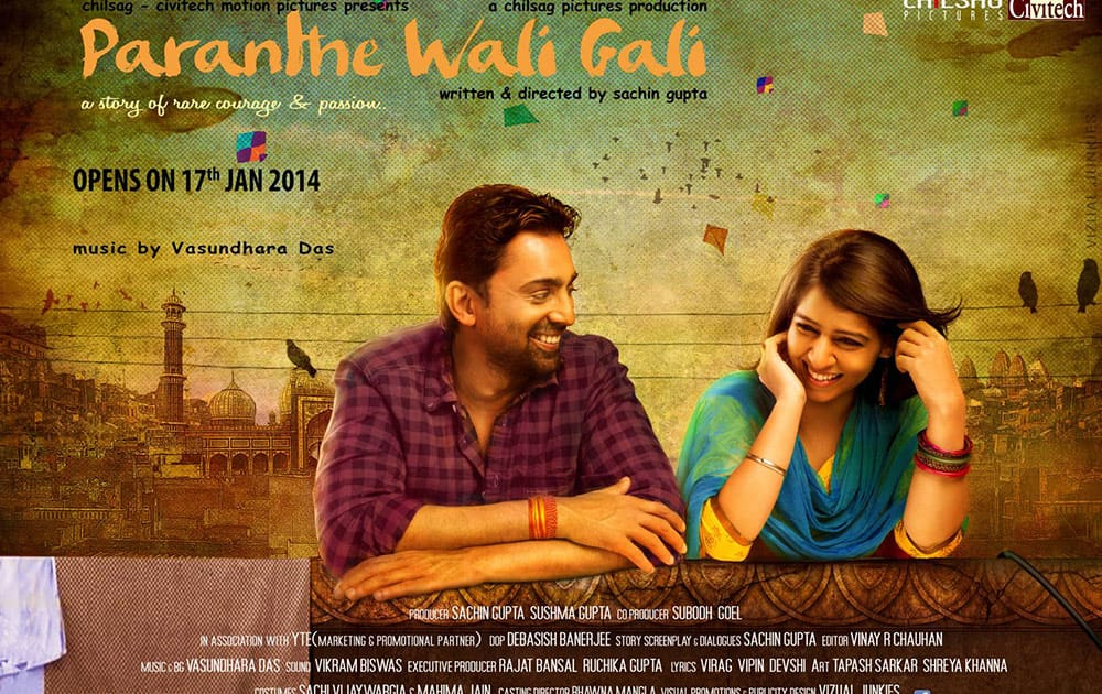 Poster - PARANTHE WALI GALI