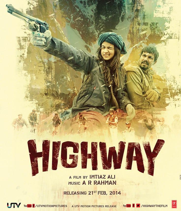 Movie stills `Highway` - Alia Bhatt and Randeep Hooda