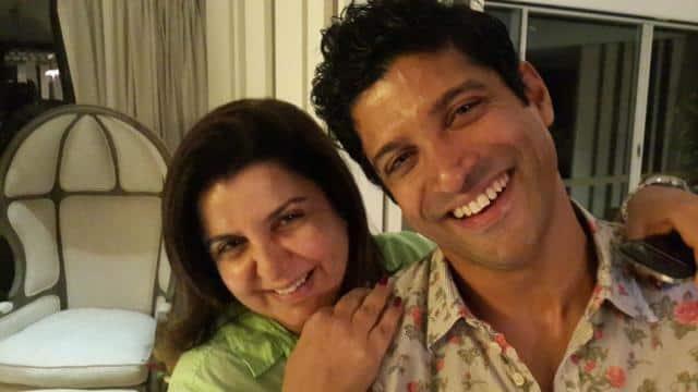 Farah Khan and Farhan Akhtar (PIC COURTESY: TWITTER)