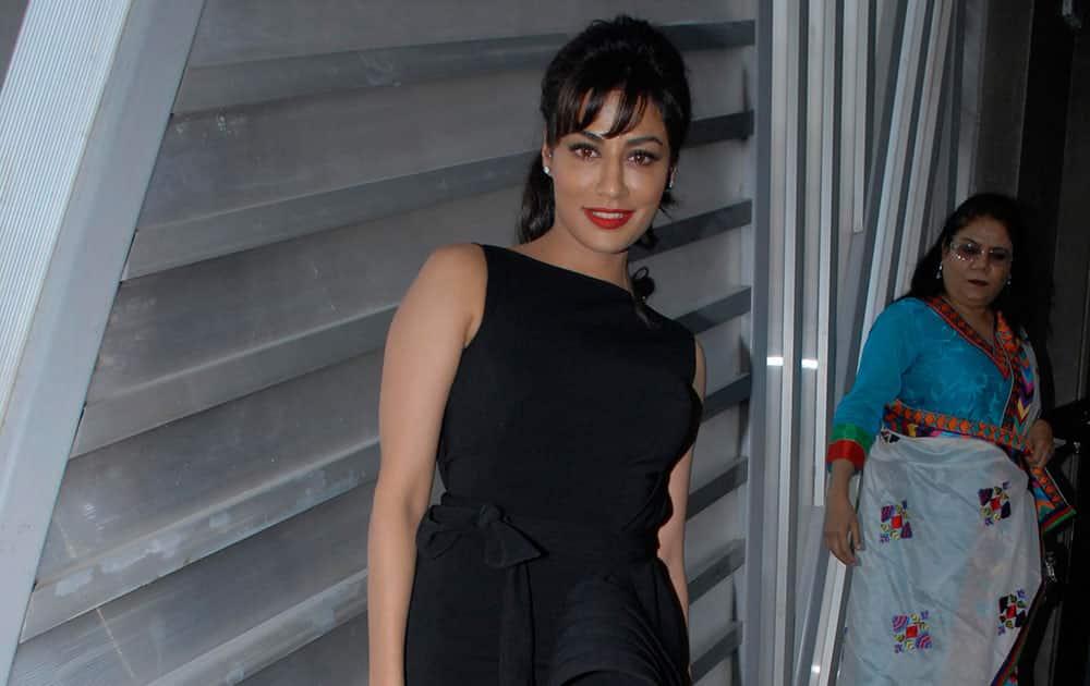 Chitrangada Singh at the launch of Reliance Digital Filmfare Calendar 2014 at Auriga Lounge, Mahalaxmi in Mumbai. (Pic Courtesy- Ashwini Sawant.DNA)