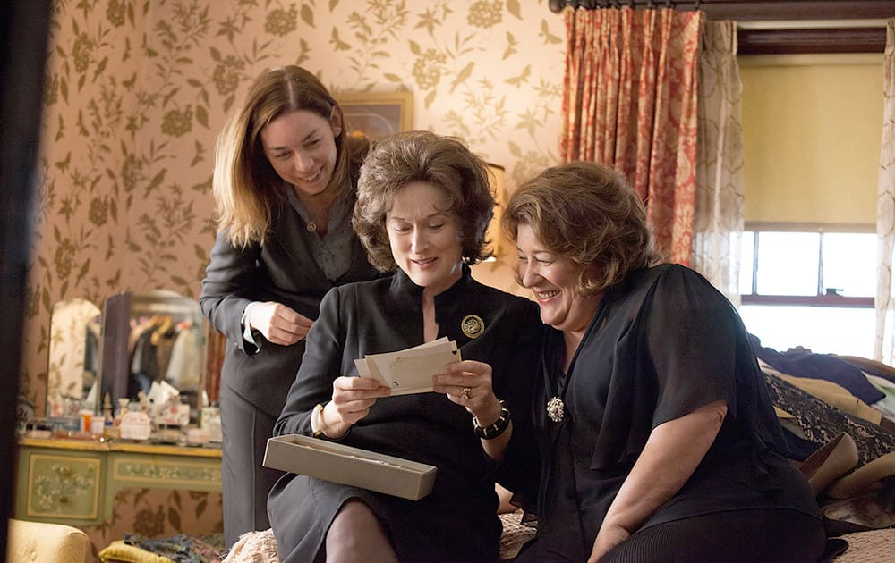 Julianne Nicholson, Meryl Streep and Margo Martindale in a scene from 'August: Osage County.' Streep was nominated for an Academy Award for best actress, for her role in the film.