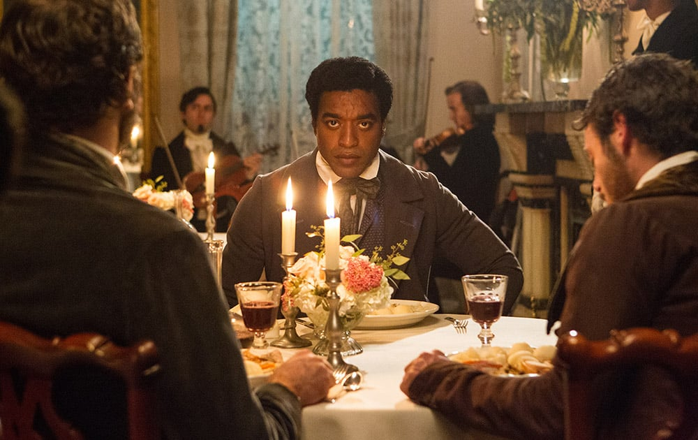 This film publicity image released by Fox Searchlight shows Chiwetel Ejiofor in a scene from '12 Years A Slave.' The film was nominated for an Academy Award for best picture.