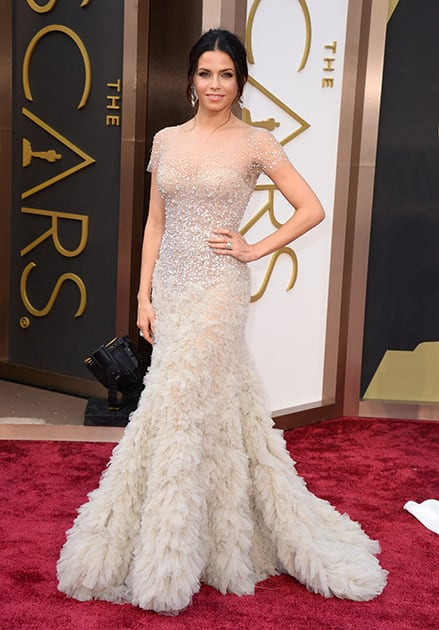 Jenna Dewan arrives at the Oscars, at the Dolby Theatre in Los Angeles.