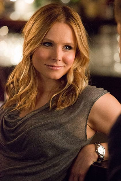 This image released by Warner Bros. Pictures shows Kristen Bell in a scene from 'Veronica Mars.'