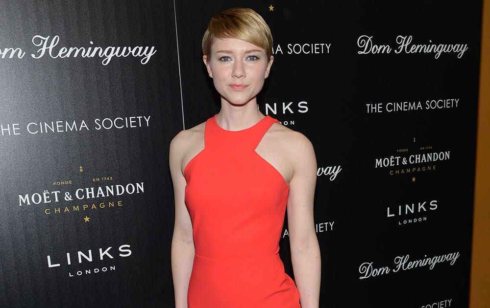 Actress Valorie Curry attends a special screening of Fox Searchlight Pictures' 'Dom Hemingway' hosted by The Cinema Society with Links of London at the Landmark Sunshine Cinema.