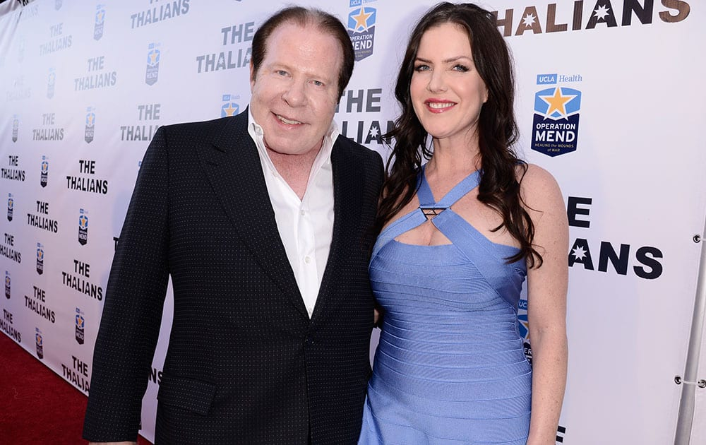 Philanthropist and businessman Bob Lorsch, left, and his wife Kira Lorsch co-chair and attend The Thalians Gala benefiting Operation Mend at U.C.L.A. and honoring singer Smokey Robinson at the House of Blues in West Hollywood, Calif.