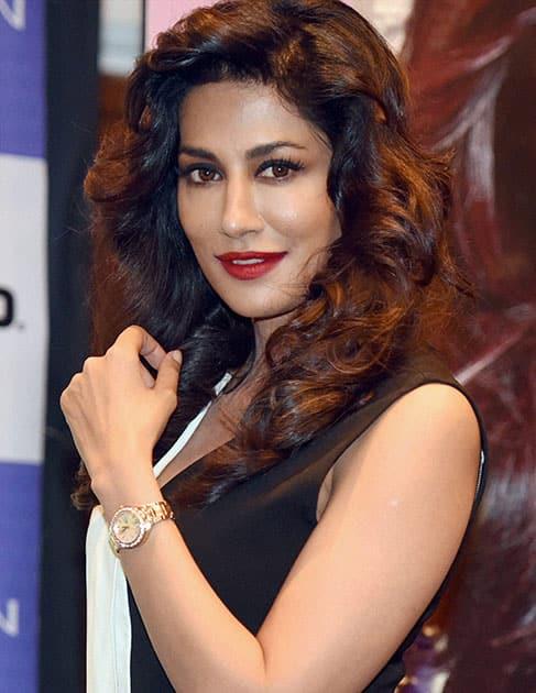 Bollywood actress Chitrangada Singh during the launch of Casio Sheen watches in Mumbai.