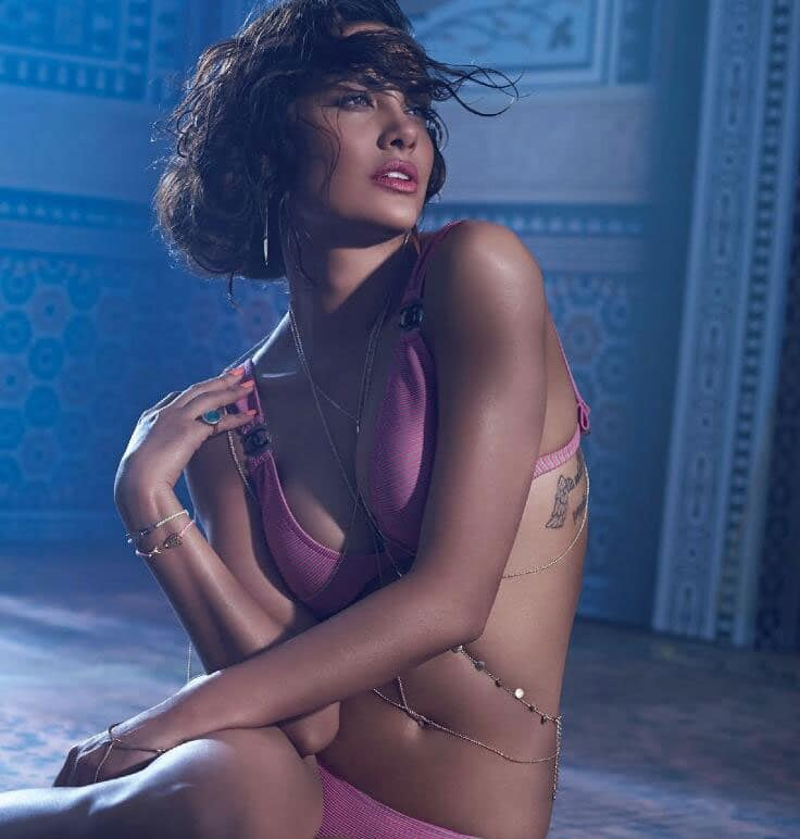 ESHA GUPTA NEW ELLE INDIA COVER FOR THE MONTH OF MAY. PIC COURTESY: TWITTER