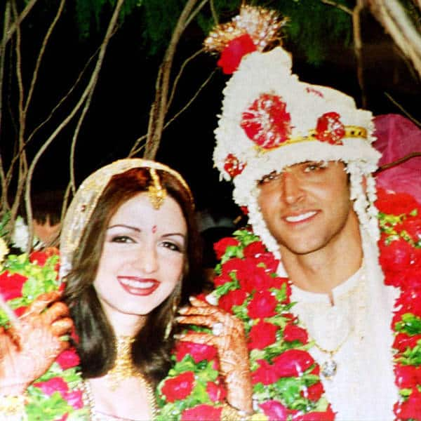 Hrithik Roshan and Suzanne Khan