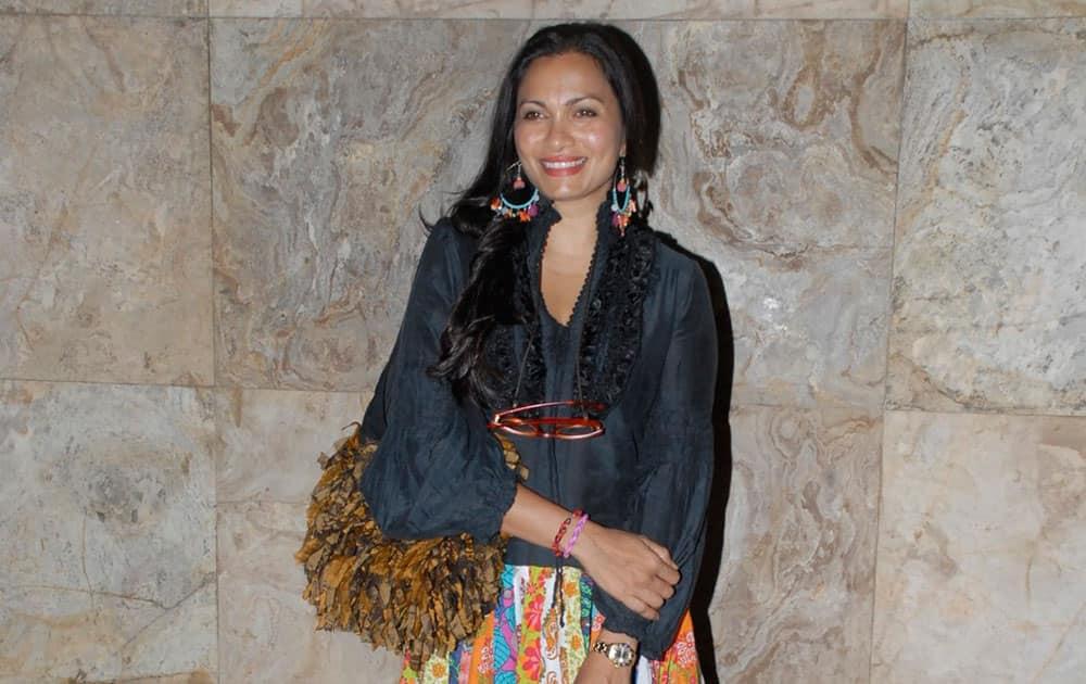 Maria Goretti at the screening of the film `Hawaa Hawaai` in Mumbai. DNA