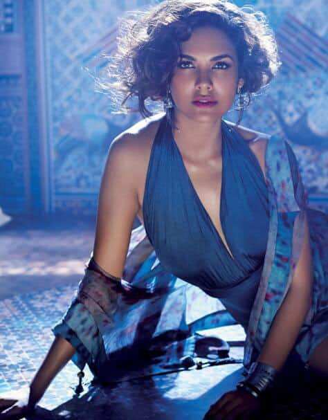 Esha Gupta Hot Photoshoot. Pic Courtesy: Twitter