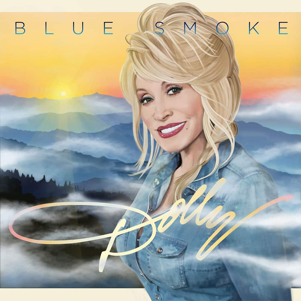 This CD cover released by Sony shows `Blue Smoke,` by Dolly Parton.