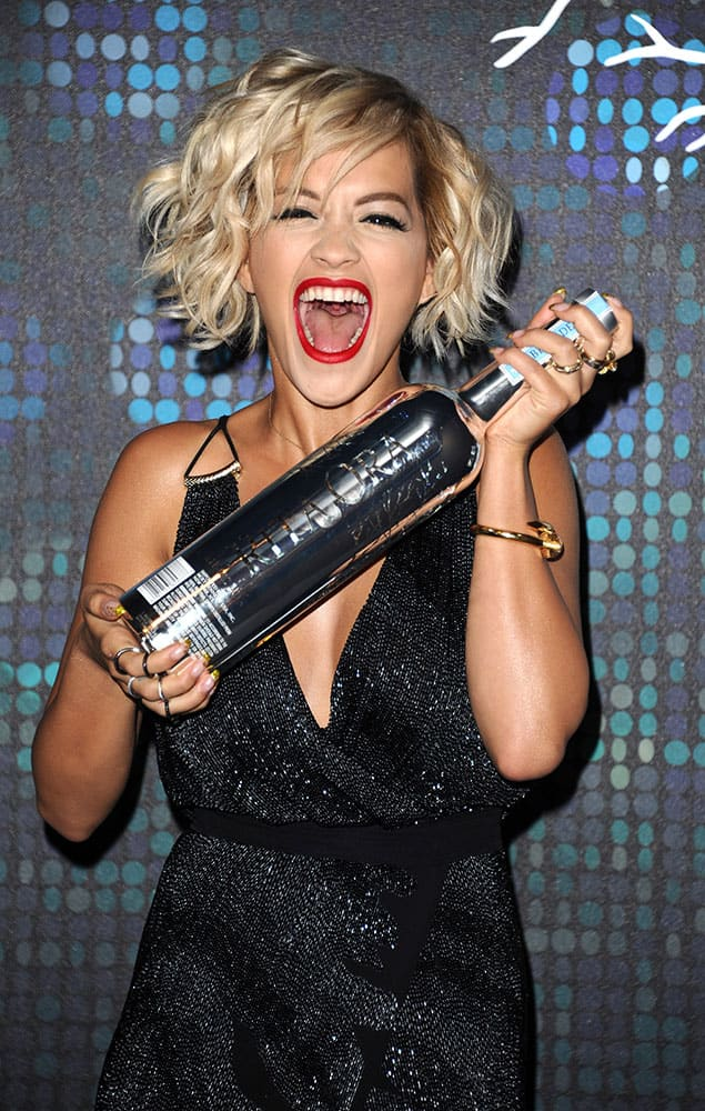 Rita Ora seen at a party during the 67th international film festival, Cannes, southern France.