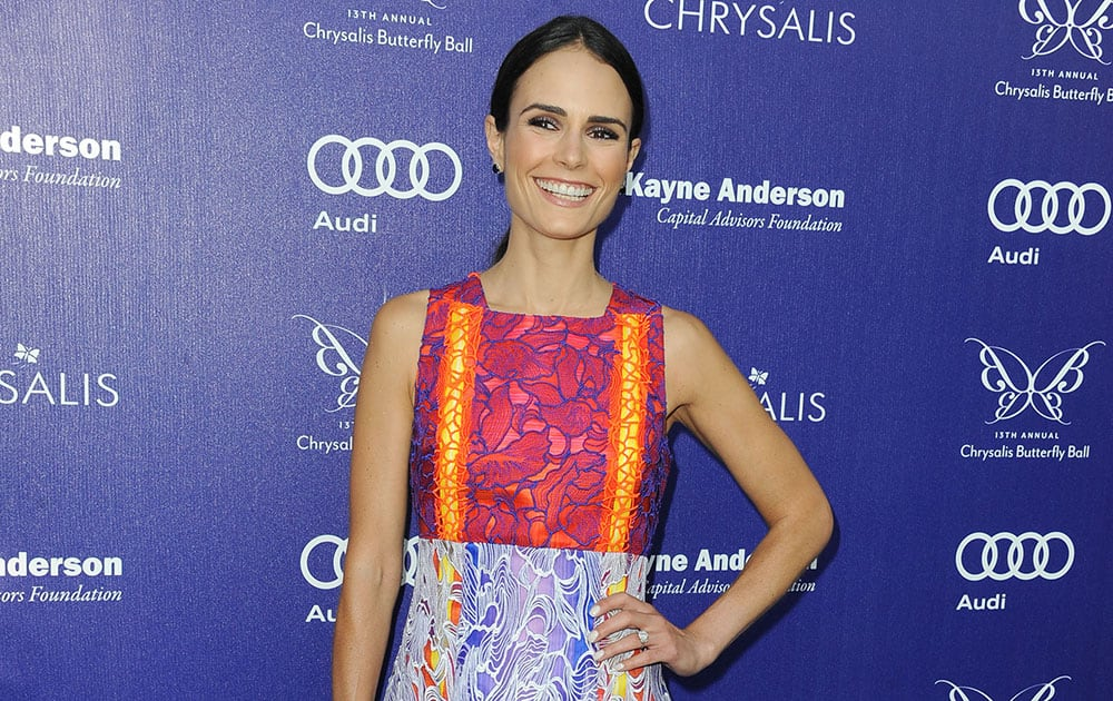 Jordana Brewster seen at The 13th Annual Chrysalis Butterfly Ball at Brentwood County Estates.