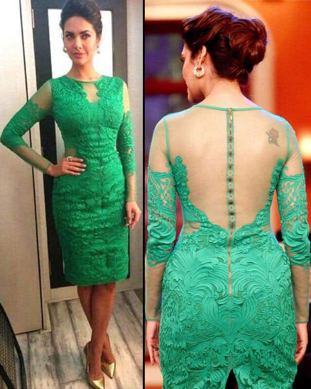 Esha Gupta - That girl with tattoo a @eshagupta2811 :).  Pic Courtesy: Twitter