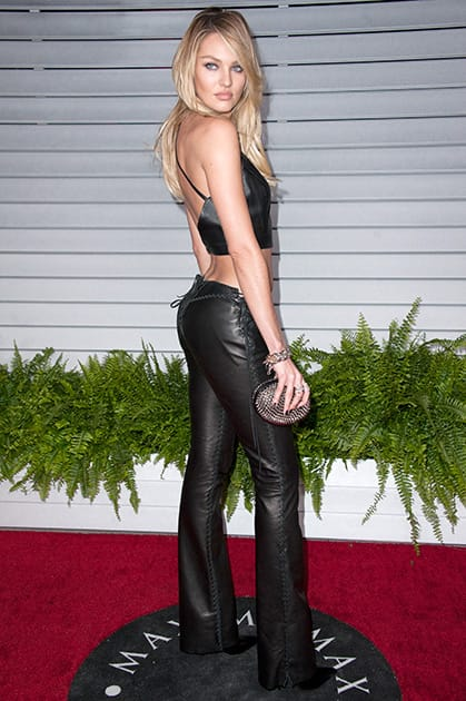 Candice Swanepoel arrives at the MAXIM Hot 100 Party, in West Hollywood, Calif.
