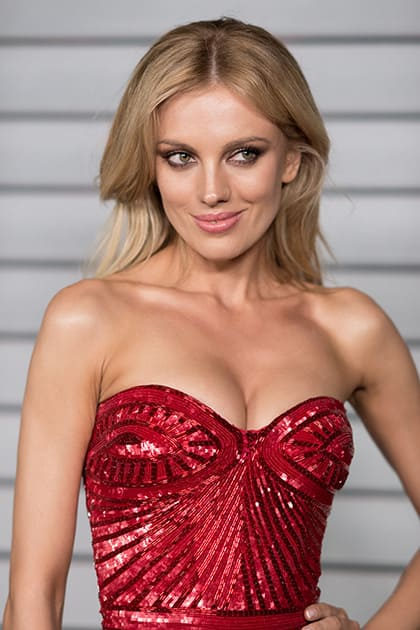 Bar Paly arrives at the MAXIM Hot 100 Party, in West Hollywood, Calif.