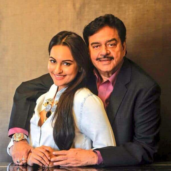 Sonakshi Sinha - Happpy fathers day and a biggg virtual hug to my popsy @ShatruganSinha all the way from akluj!! Miss you!! Pic Courtesy: Twitter