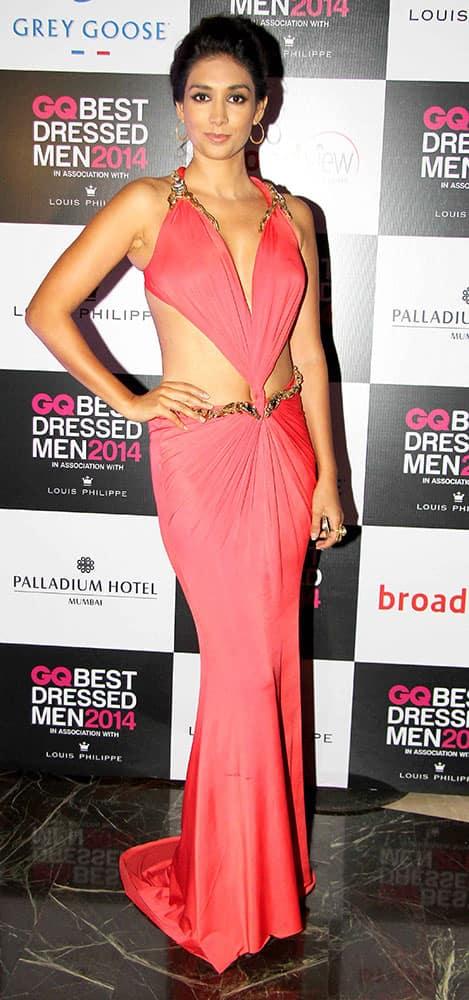 Preeti Desai at GQ Best Dressed Men 2014 Awards in Mumbai. dna