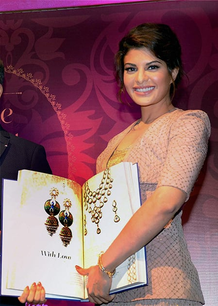 Bollywood actress Jacqueline Fernandez at the second edition Launch of The Great Indian Wedding Book in Mumbai
