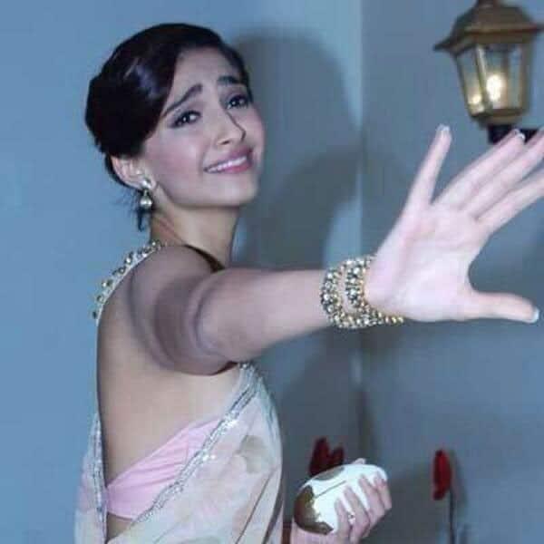 Sonam Kapoor -  Nahiiiiin!!!! #dramaqueen . PIC COURTESY: TWITTER