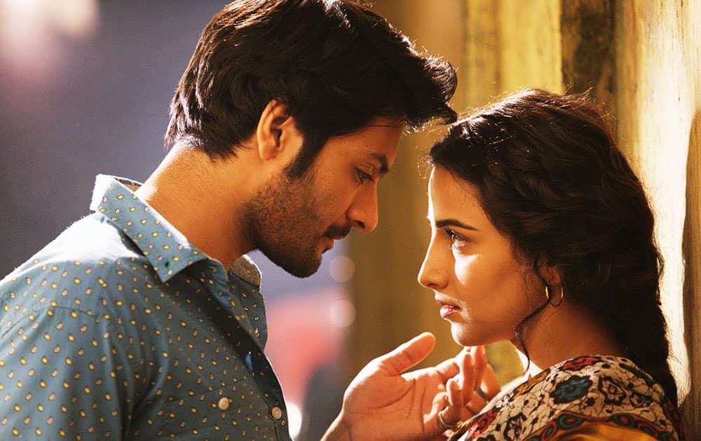 The film sees debutant actor Ali Fazal romancing the much senior Vidya onscreen.