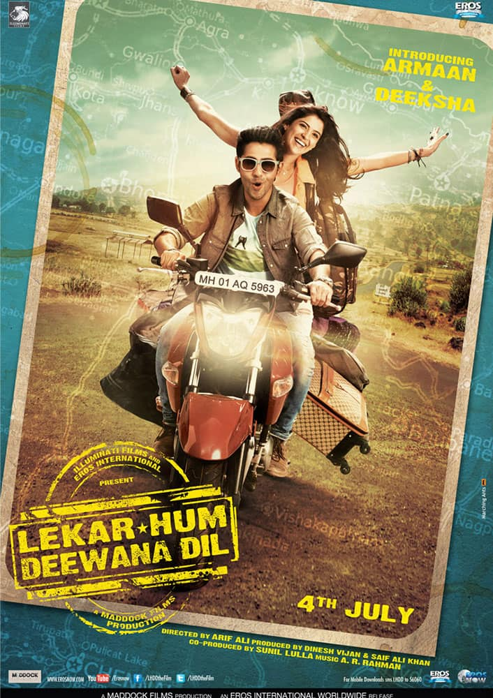 Legendary actor-filmmaker- Raj Kapoor's grandson Armaan Jain makes his Bollywood debut with 'Lekar Hum Deewana Dil'