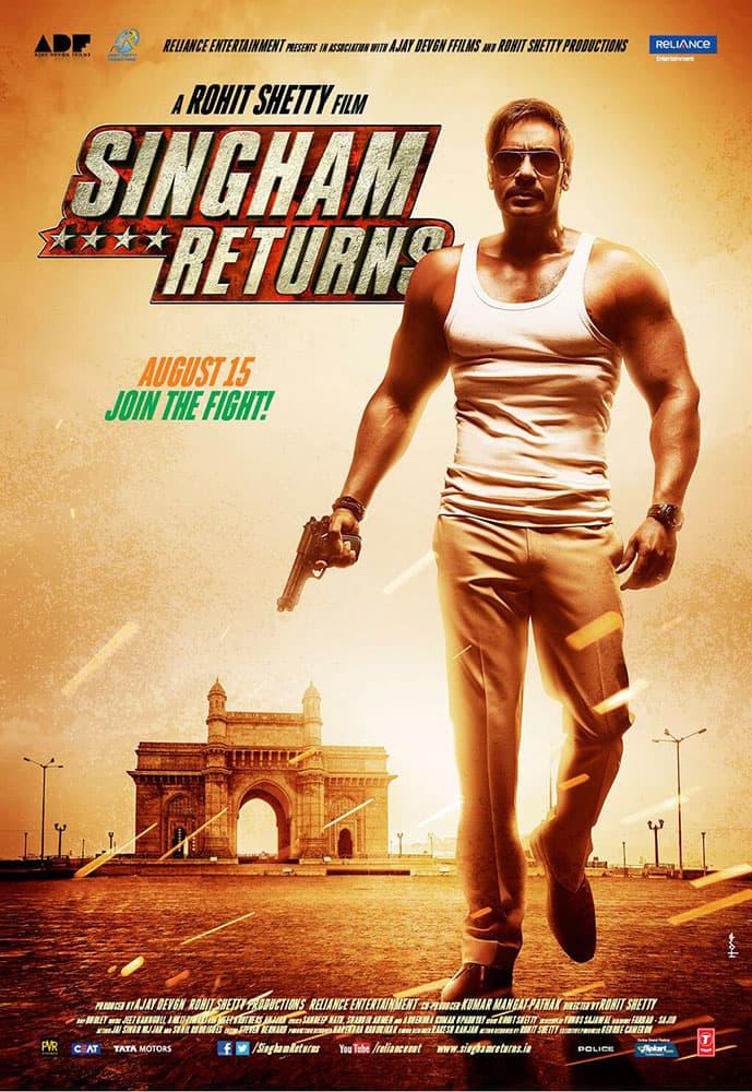 Ajay will essay the role of Bajirao Singham.