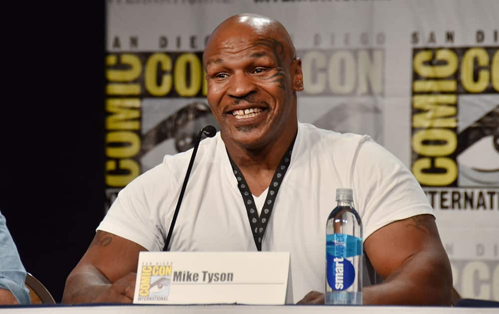 Mike Tyson attends the